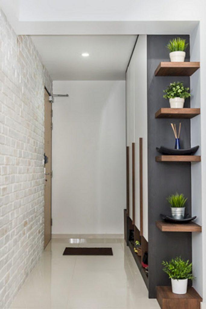 Corner Floating Shelves