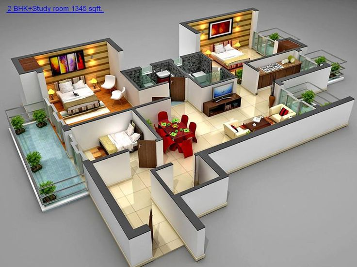3D House Plans to Visualize Your Future Home - Decor Inspirator