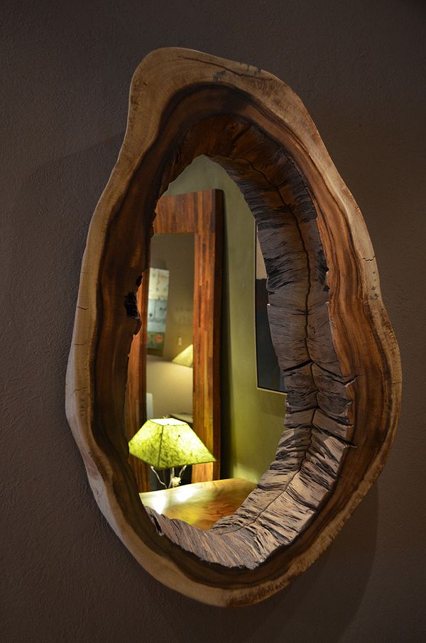 Unique Wooden Mirror Frames to Reflect Your Style - Decor ...