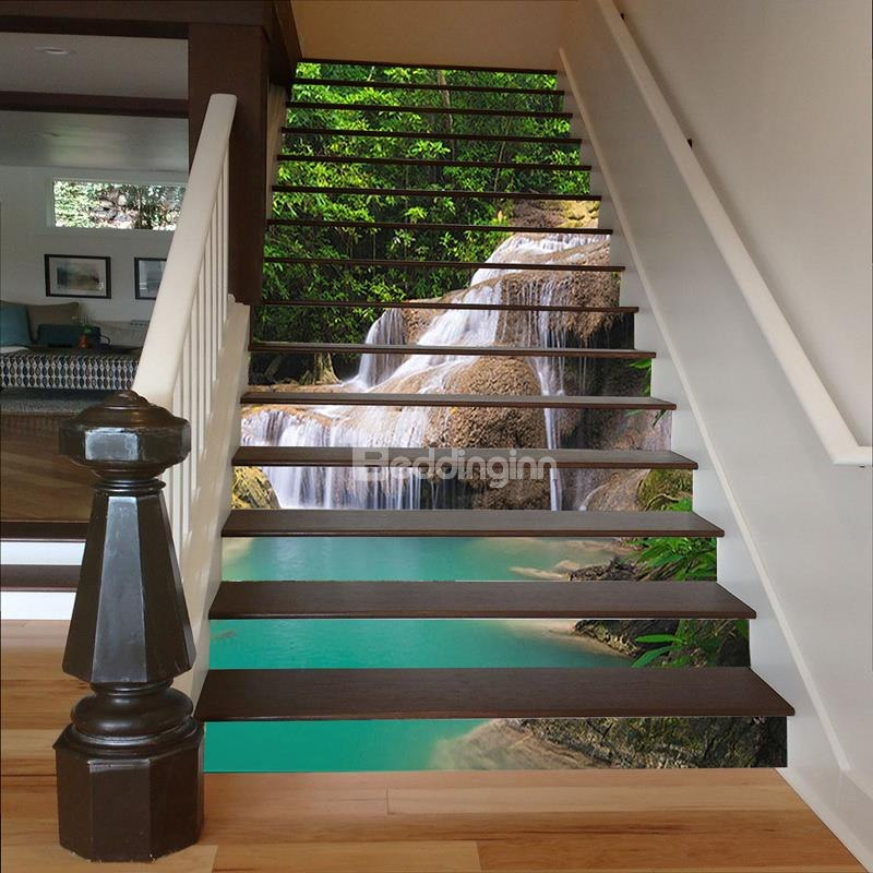 Lovely 3d Staircase Risers Decoration Idea Decor Inspirator