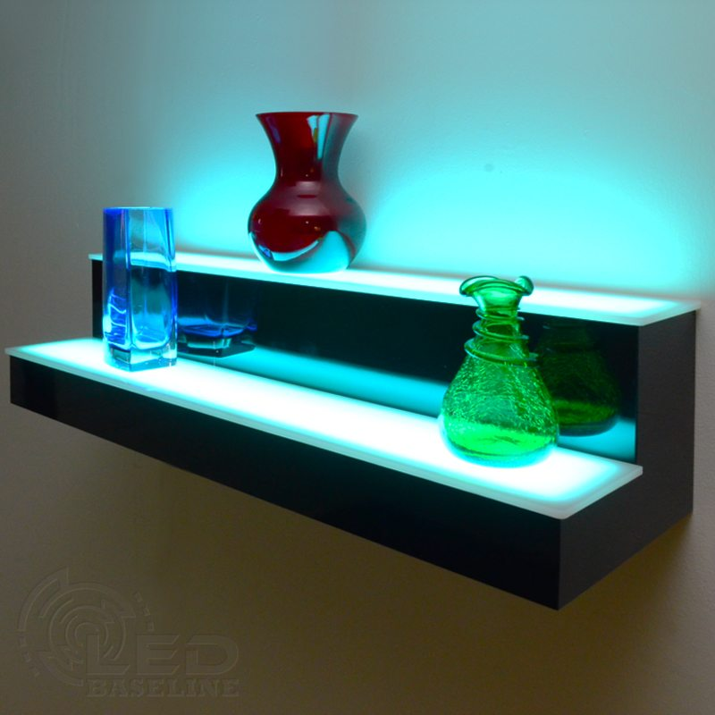 LED light shelves