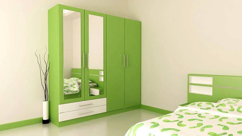 green wardrobe bedroom cabinets