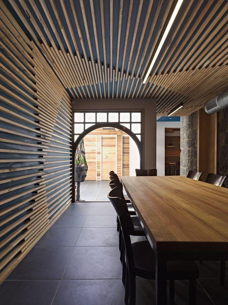 wood slats home design