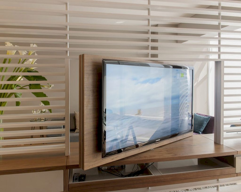 TV wall divider