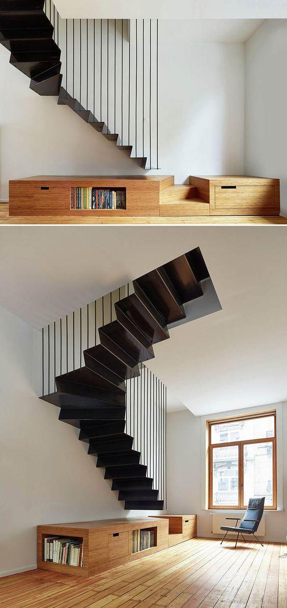 geometric stairs