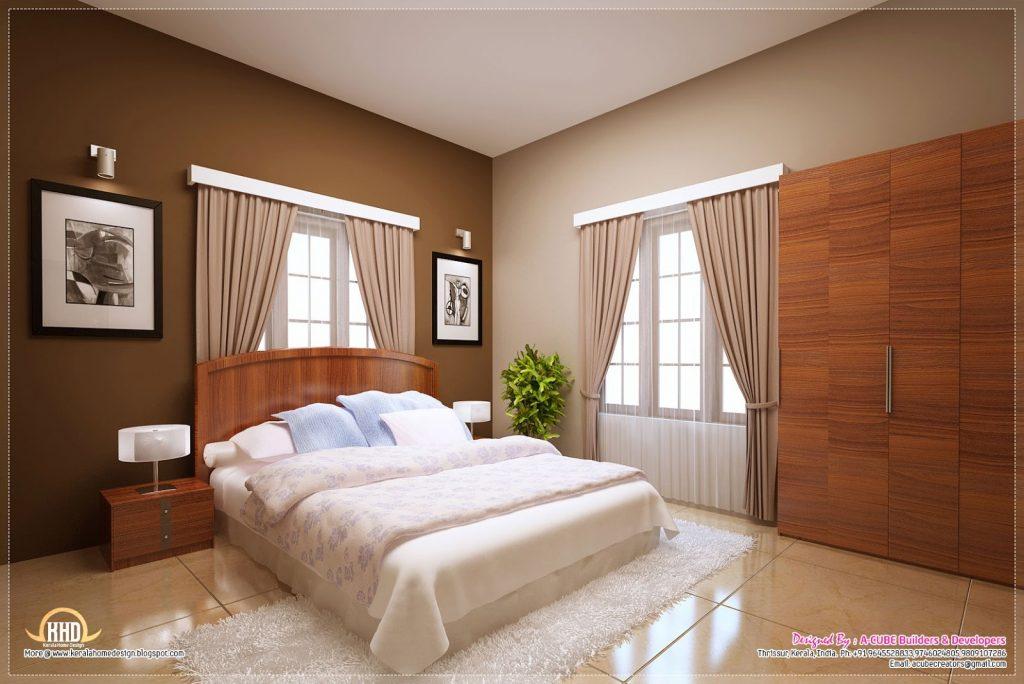 bedroom kerala style design