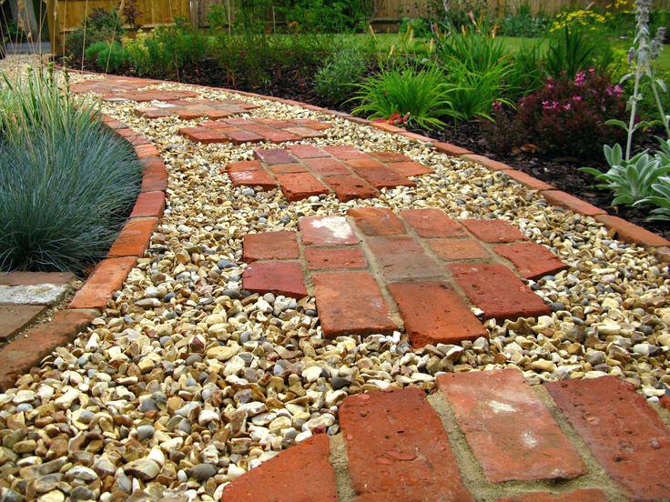 garden bricks pathway