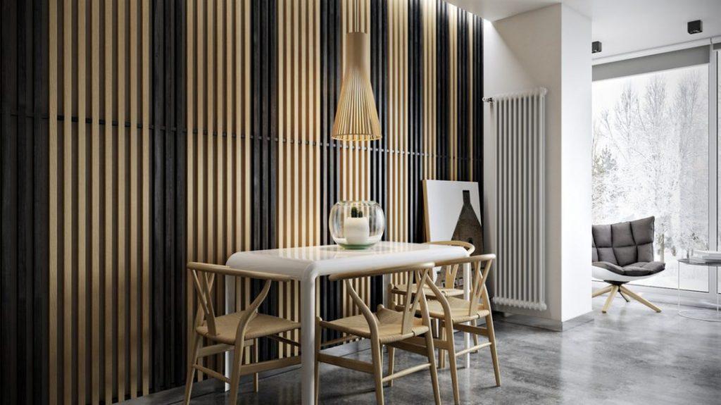 wall wood slats