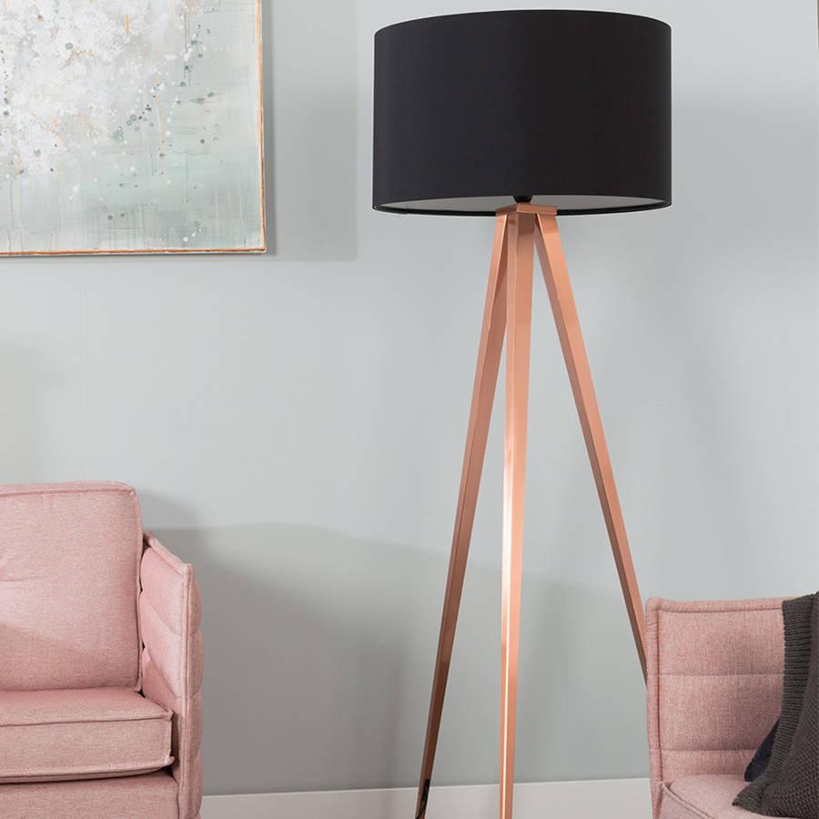 tripod copper light