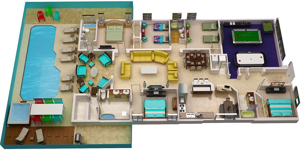 Perfect 3D House Plans