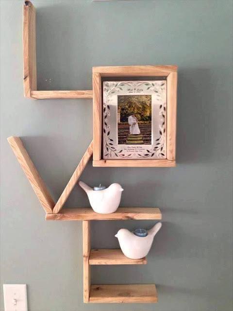 dazzling wall shelves