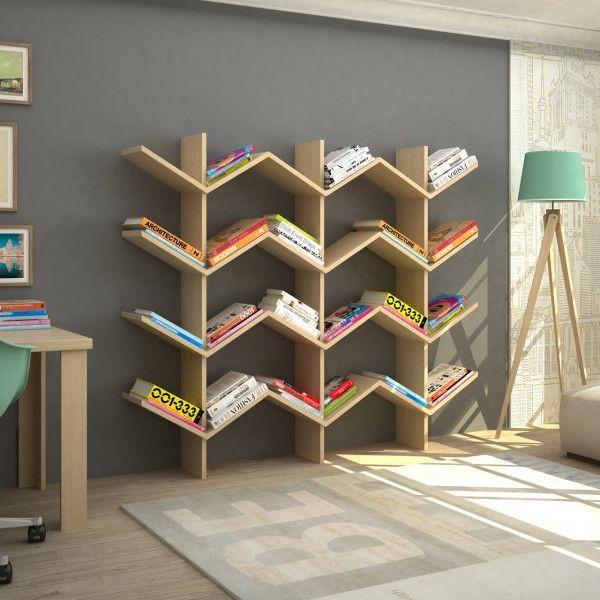 simple wooden shelves