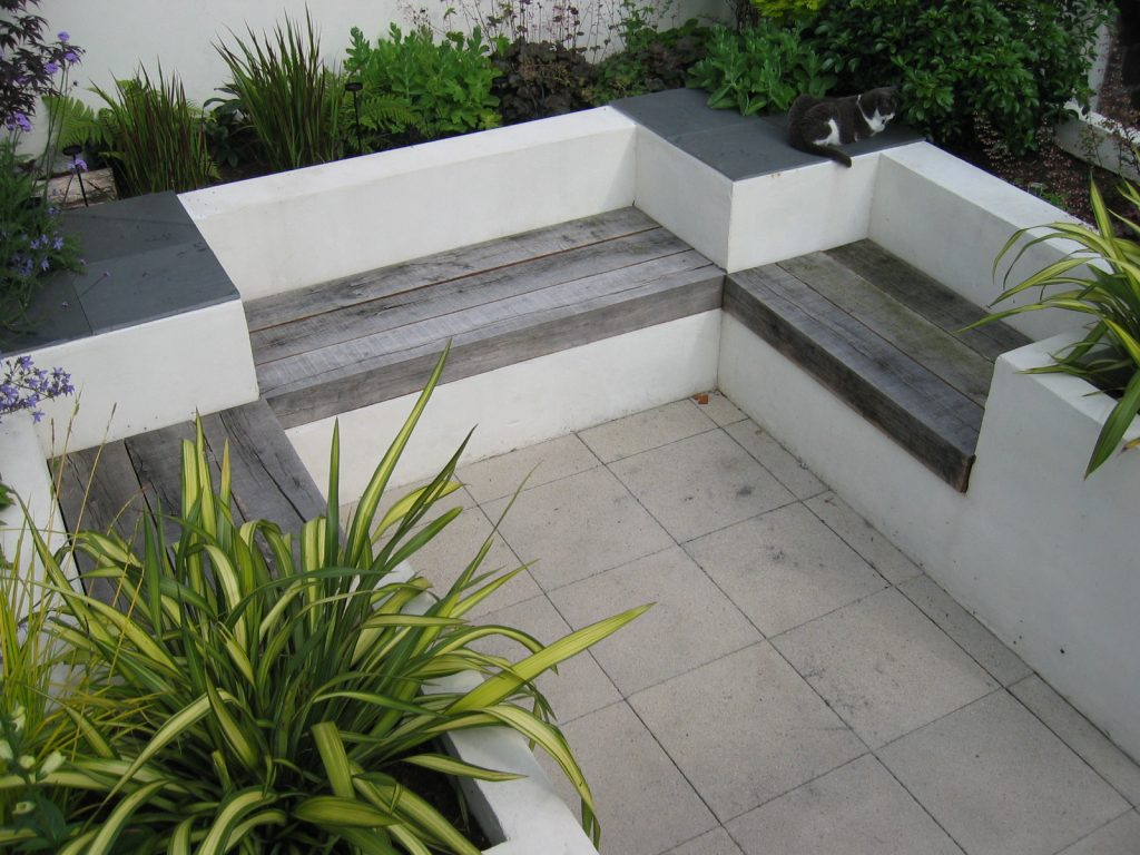 built-in benches
