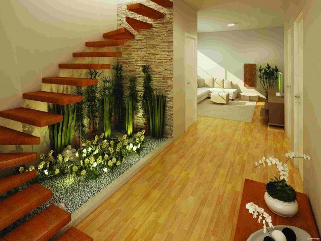garden in interior
