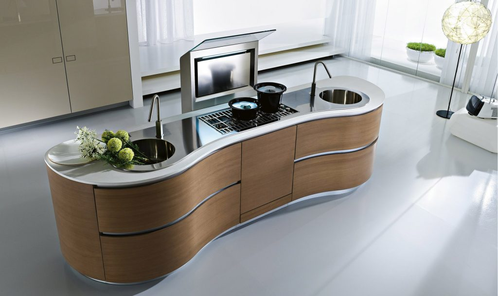 nice kitchen island