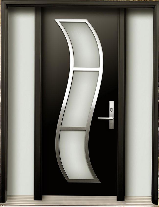 Single Wooden Door Designs With Glass Glass Door Ideas