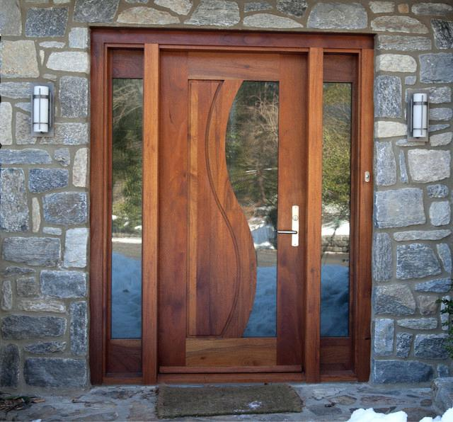 simple front door design