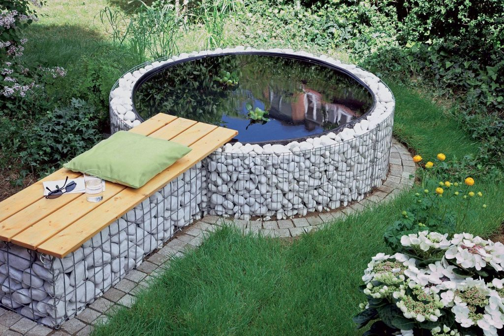 Gabion ideas that will enhance the garden ambient decor for Design per te