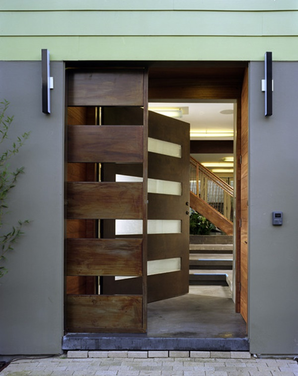 Contemporary Front Door Design That Captures Hearts