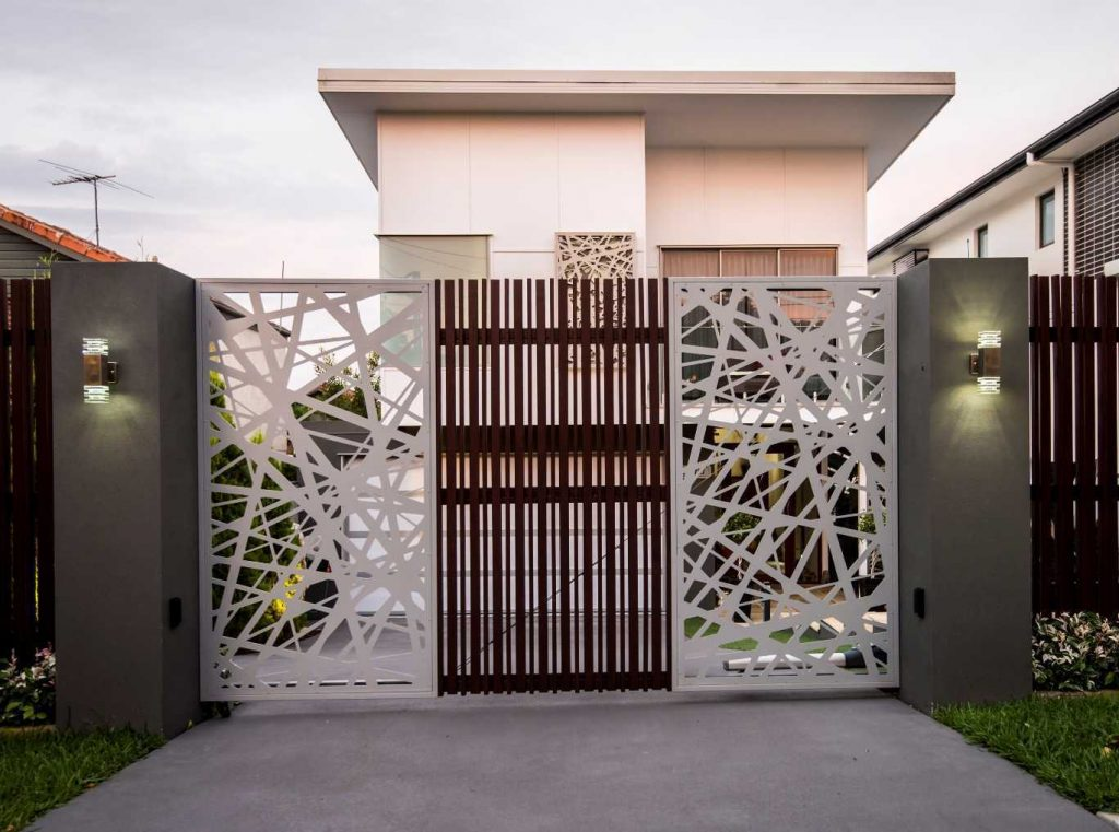 simple modern gate designs for homes images in nigeria front design and awesome with fabulous kenya the 2018 1024x761 - Get Modern Small House Front Gate Designs For Houses Images