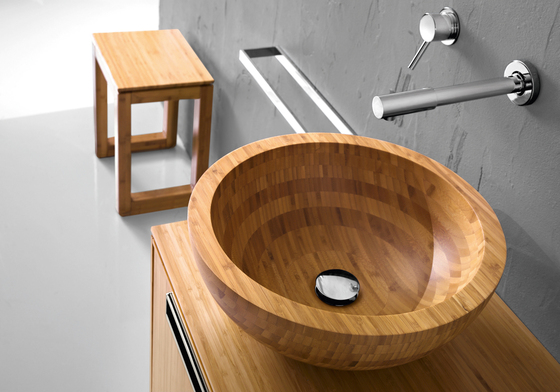 bathroom wooden sink