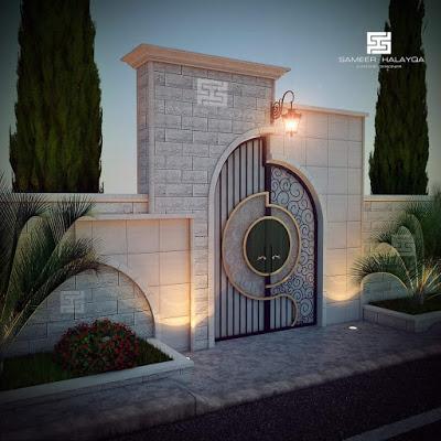 entrance arch gate design