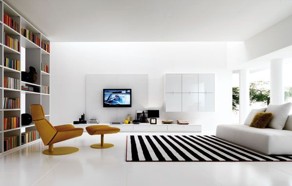 white bed sofa
