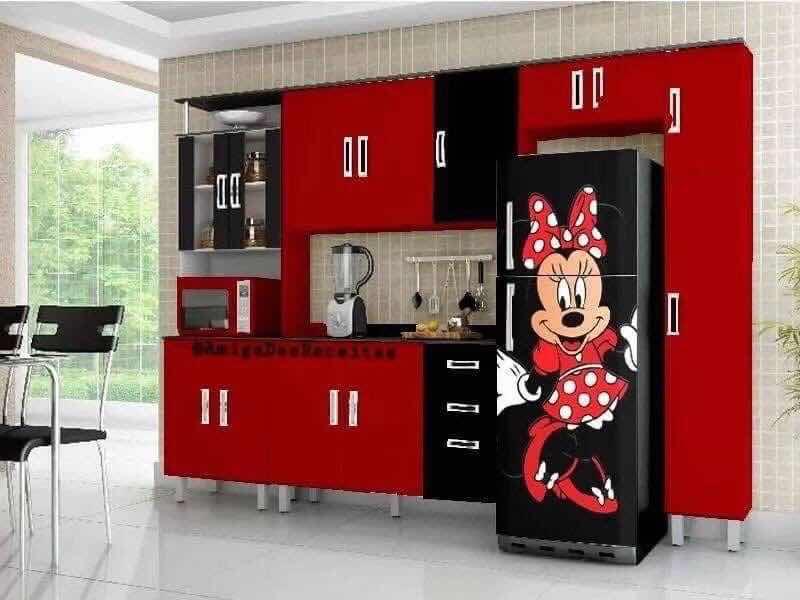 Stunning Mickey Mouse Kitchen Design Decor Inspirator