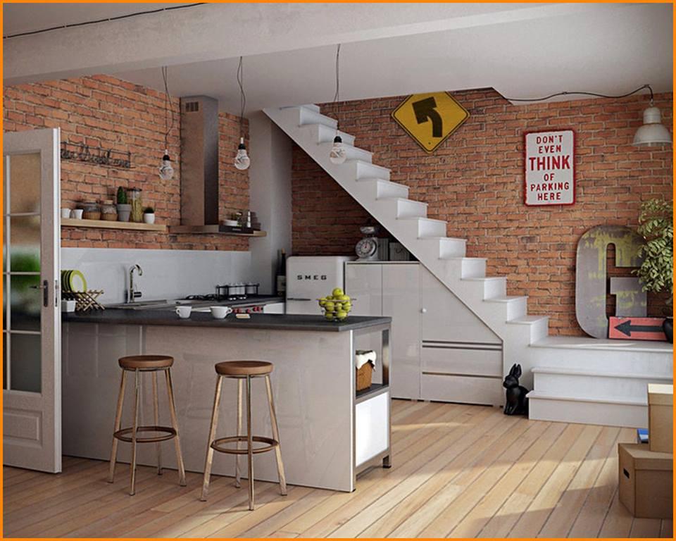 20 Smart Under Stairs Design Ideas: Stunning Kitchen Under Stairs Ideas