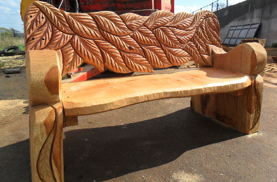 Rustic Wooden Benches To Beautify The Yard Decor Inspirator