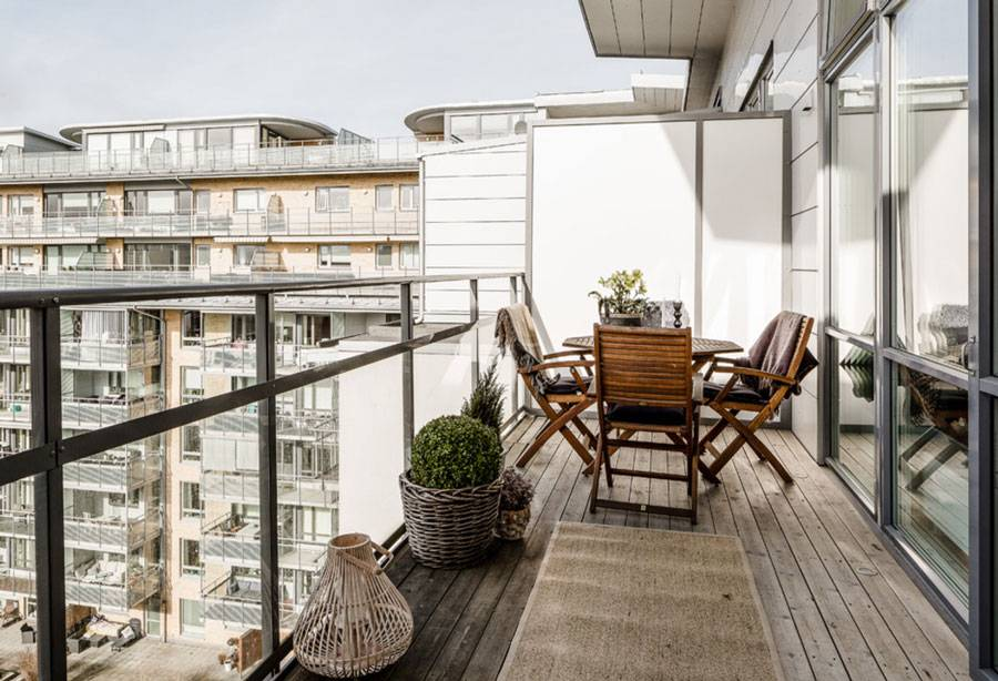 elegant balcony