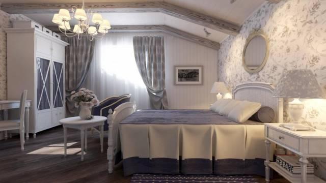 nice attic bedroom