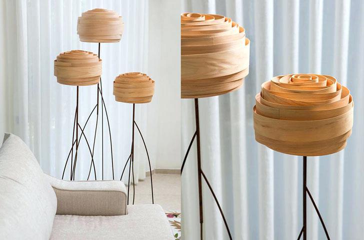 amazing roze floor lamp