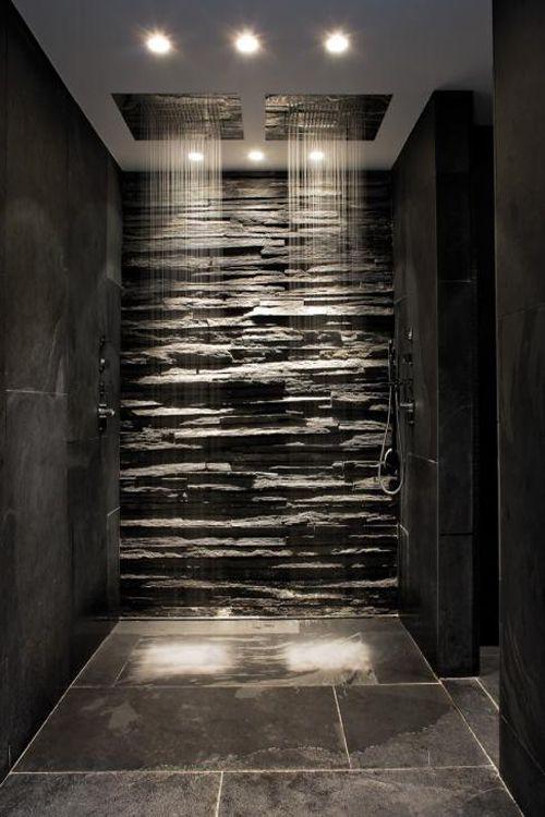waterfall bathroom showers