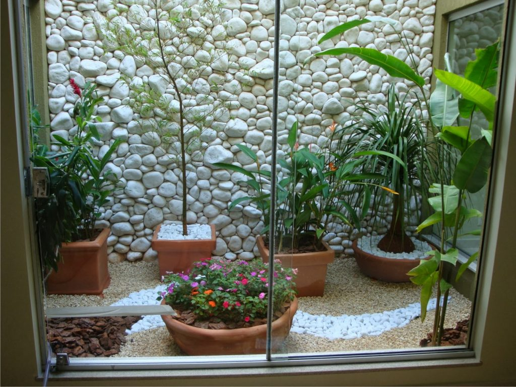 small indoor garden