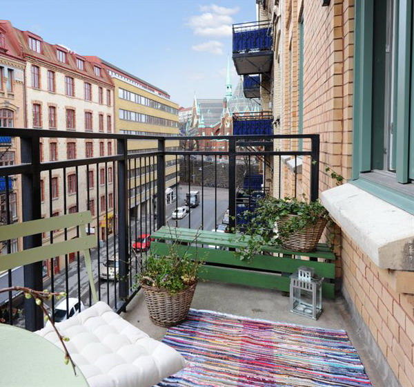 Swedish balcony