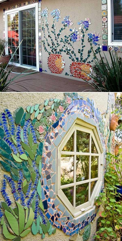 mosaic garden ideas