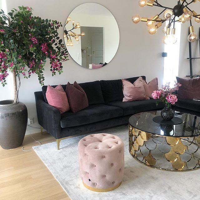 coffee table setting decor