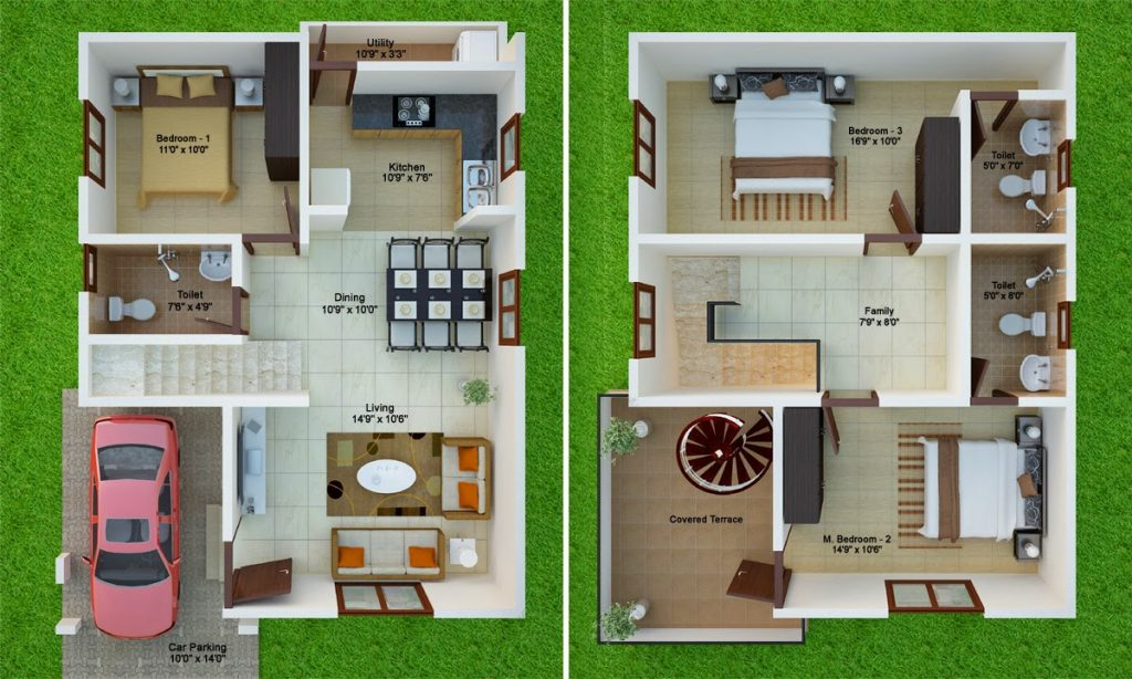 two amazing house plans