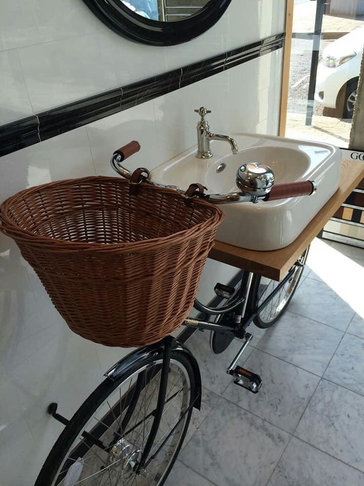 bicycle bath sink
