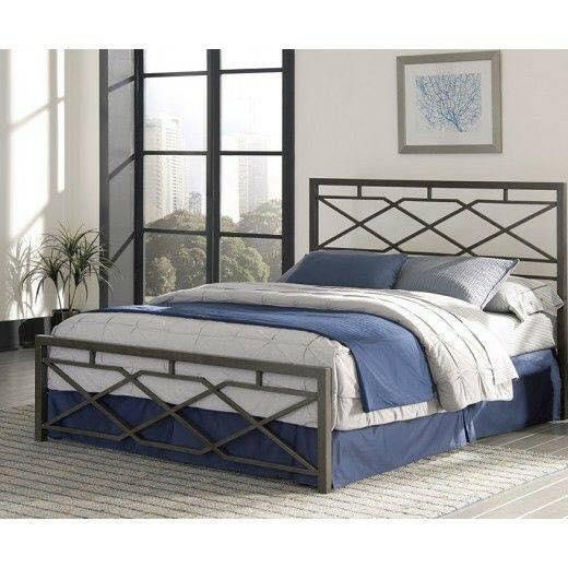metal bed for bedroom