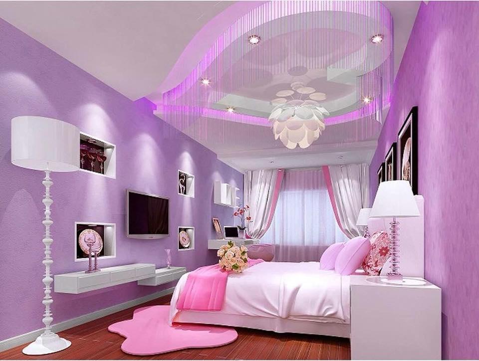 pink girl's room design