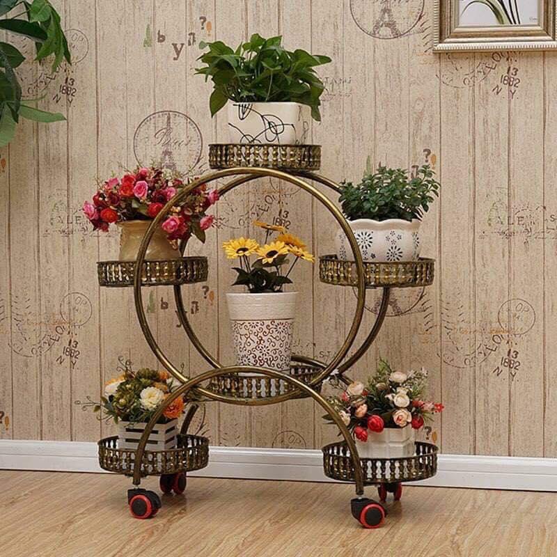 impressive flower pots stands