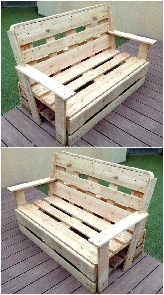 sofa of pallets