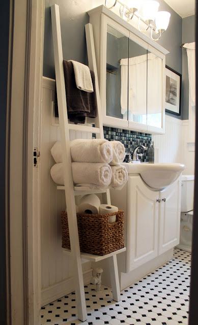 bath towels organization