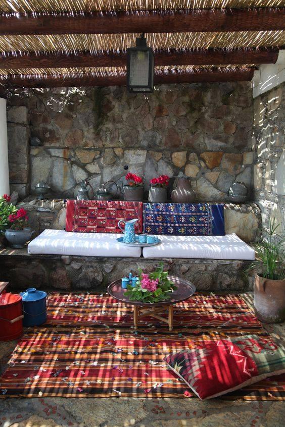 Turkish garden room