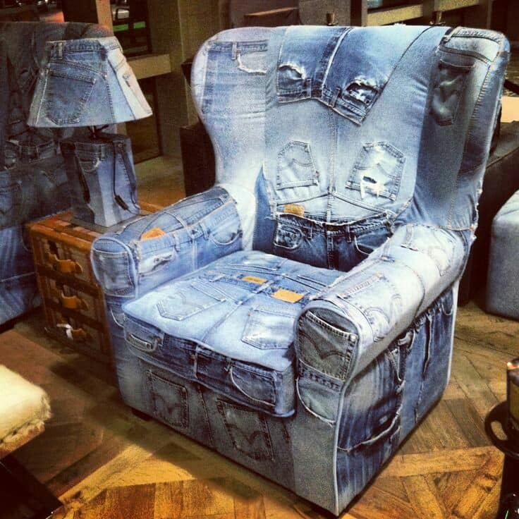 old jeans reuse