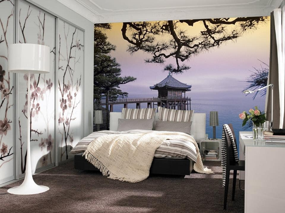 lovely bedroom wallpaper