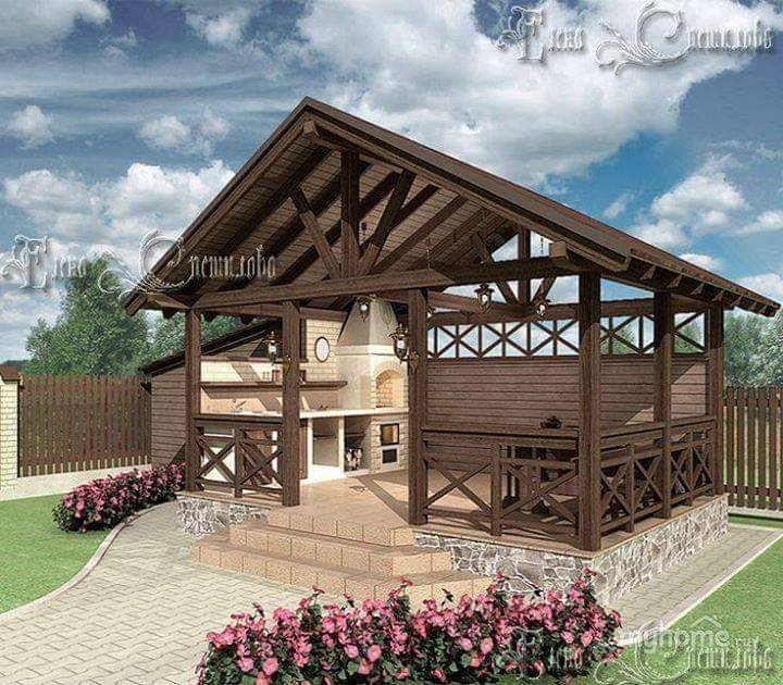 lovely wooden bench