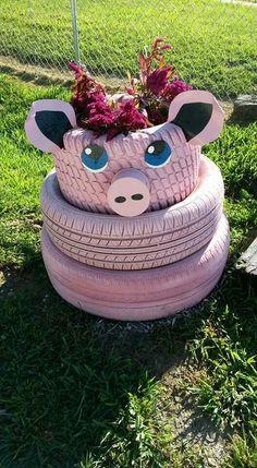 tires pig